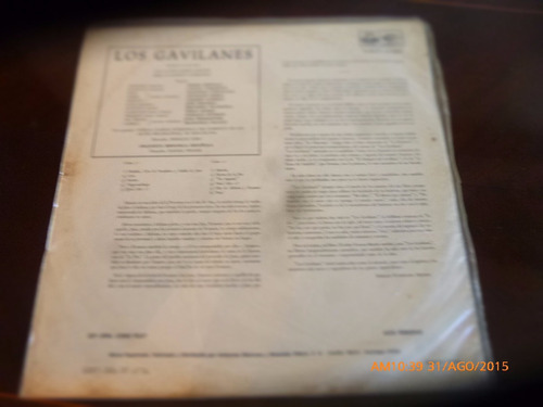 vinilo lp de los gavilanes  --jacinto guerrero  (u1317