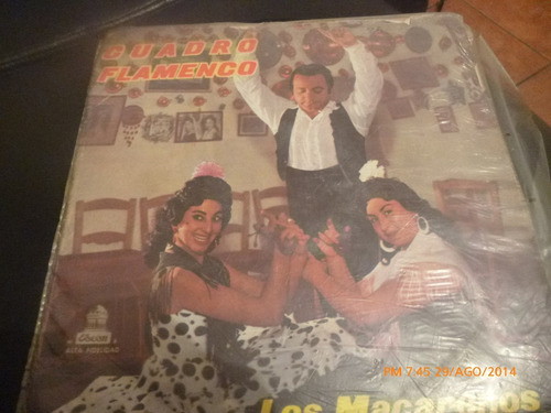 vinilo lp de los macarenos   ---  cuadro flamenco (975