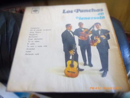 vinilo lp de los panchos -- en venezuela   (u1177