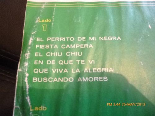 vinilo lp de los tres reales  baliando cumbiachi fiest (u610