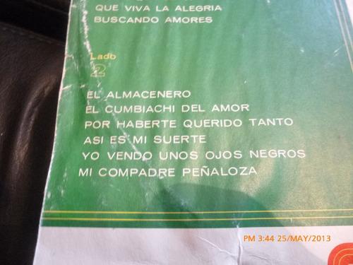 vinilo lp de los tres reales  baliando cumbiachi fiesta (675