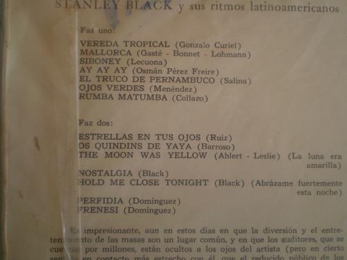 vinilo lp de luna cubana  stanley black (657)