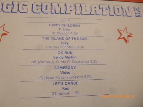 vinilo lp de magic compilation n°2  (u760