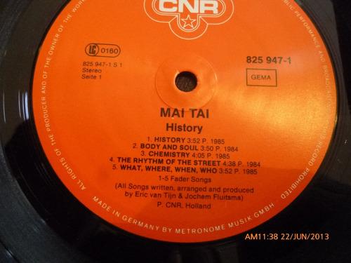 vinilo lp de mai tai   -history (u430