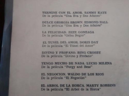 vinilo lp de marilyn monroe - musica de sus peliculas(lp501