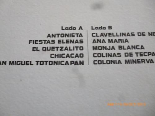 vinilo lp de  marimba hurtado hermanos (u612