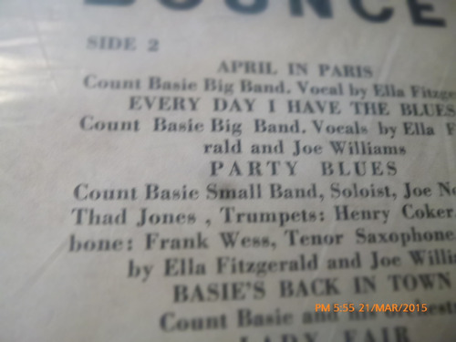 vinilo lp de  metronome all stars 1956 (u1141