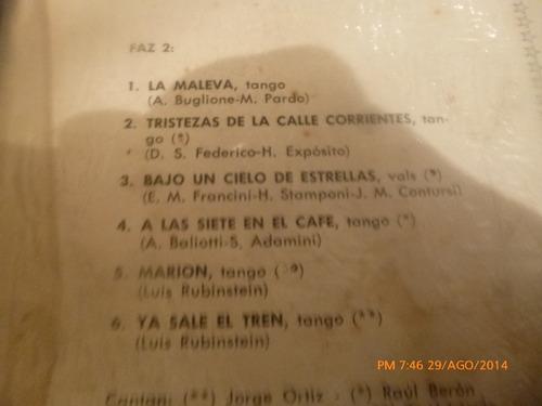 vinilo lp de miguel calo  y su orquesta (942