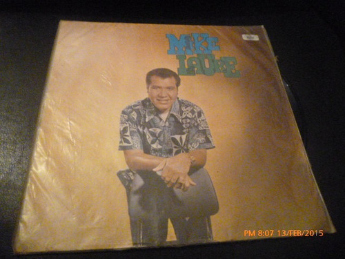 vinilo lp de mike laure --el lechero (1190