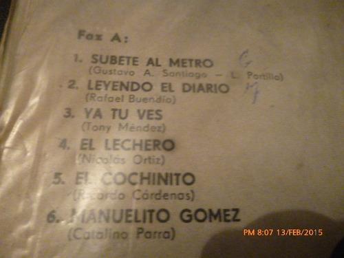 vinilo lp de mike laure --el lechero (u1002