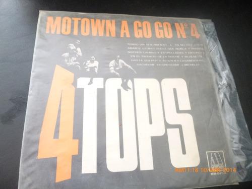 vinilo lp de motown a go go n°4  4 tops (949)