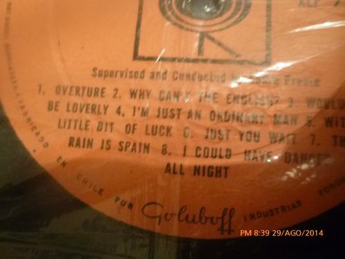 vinilo lp  de my fair lady   - -audrey rex (u396