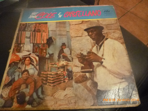 vinilo lp de nat  king  cole  -- en castellano (lp670