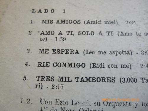 vinilo lp de nicola di bari canta en italiano (u133