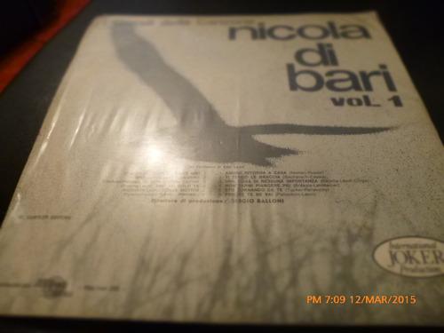 vinilo lp de  nicola di bari -i grandi della canzone (u1153