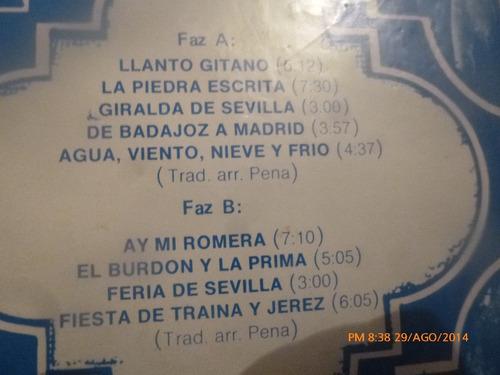 vinilo lp de paco peña y su grupo puro flamenco (lp635