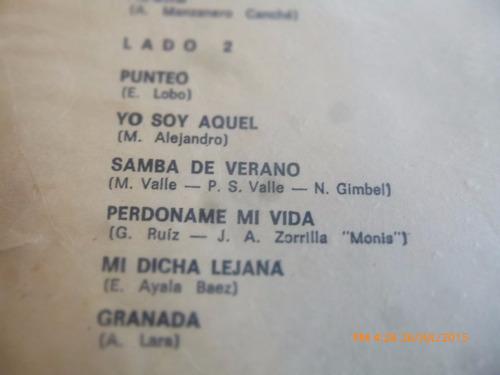 vinilo lp de paul mauriat -- noches latinas (1375