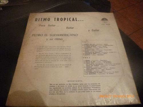 vinilo lp de pedro el sudamericano  -- para bailar (431