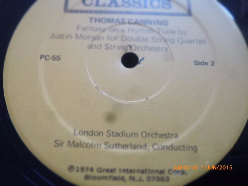 vinilo lp de prokofiev - peerless classics (u1182