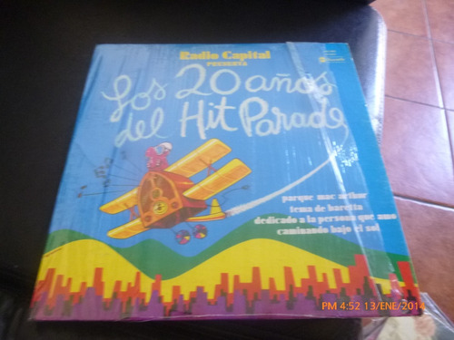 vinilo lp de radio capital 20 hits parada  (874