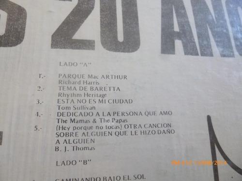 vinilo lp de radio capital 20 hits parada  (u761