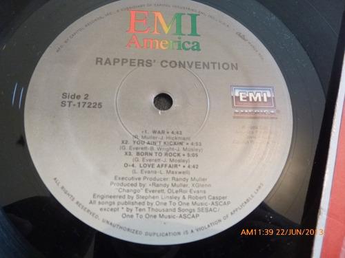 vinilo lp de rappers convention   -the wiggle (526)