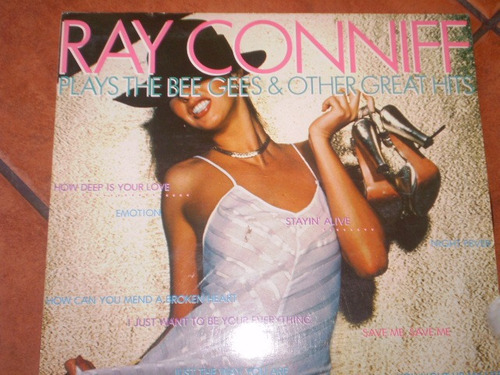 vinilo lp de ray conniff   bee gees (9)  vg +