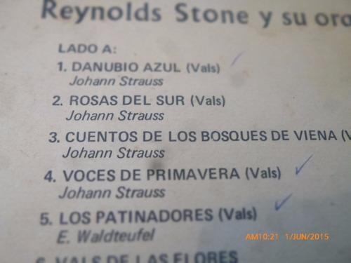 vinilo lp de reynolds stone --los mas bellos valses (1306