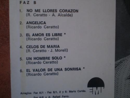 vinilo lp de ricardo ceratto  mis canciones  (269)