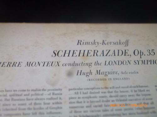 vinilo lp de rimsky korsakoff  -schererazade(1341