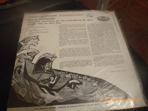 vinilo lp  de rimsky korsakov -- scheherazade (253