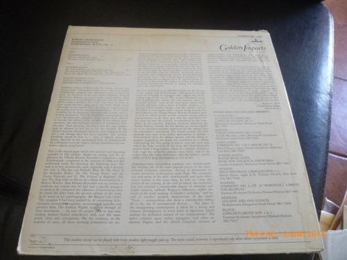 vinilo lp  de  rimsky korsakov scherezade  (846)