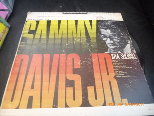 vinilo lp de sammy davis jr spotlight on (u36