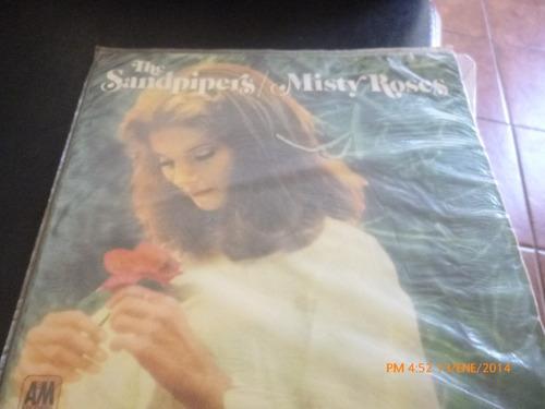 vinilo lp de sandpipers- misty roses  (886