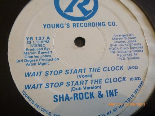 vinilo lp  de  sha -rock & inf   sherriff's rap (531)