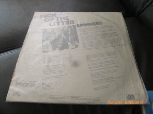vinilo lp de spinners - pick of the litthe (561