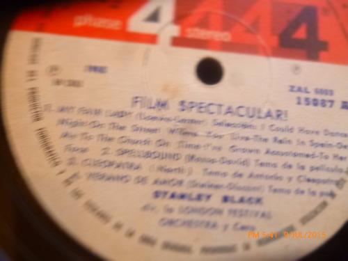 vinilo lp de stanley black --film spectaculares (1301)