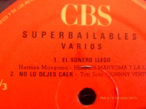 vinilo lp de superbailables vol 7 cbs (u1069