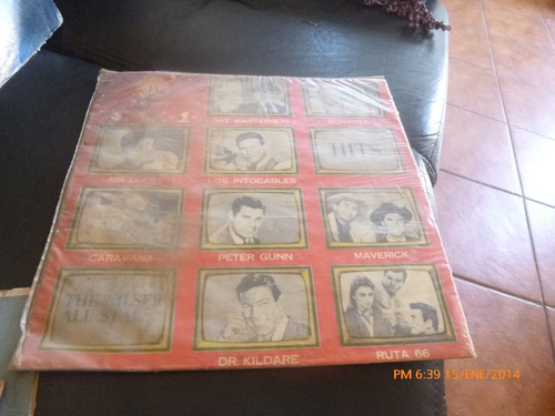 vinilo lp de t v hits the nilser all stars  (u774