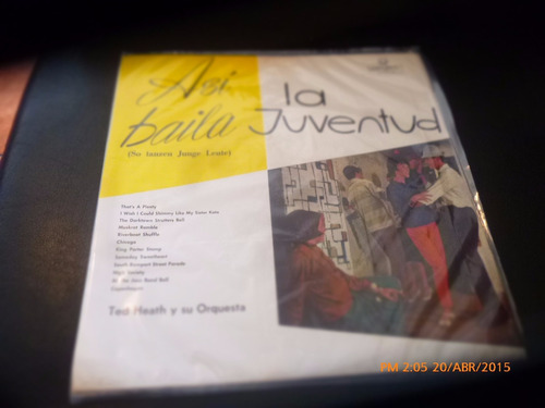 vinilo lp de ted heath y su orque asi baila la jud(582