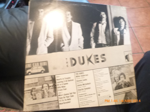 vinilo lp de the dukes -  hearbreaker (944