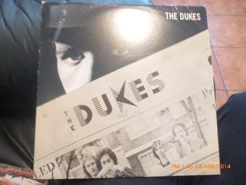vinilo lp de the dukes -  hearbreaker (u796
