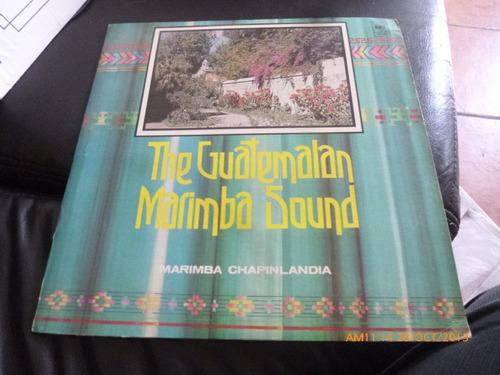 vinilo lp de  the guatemalan marimba sound (u613