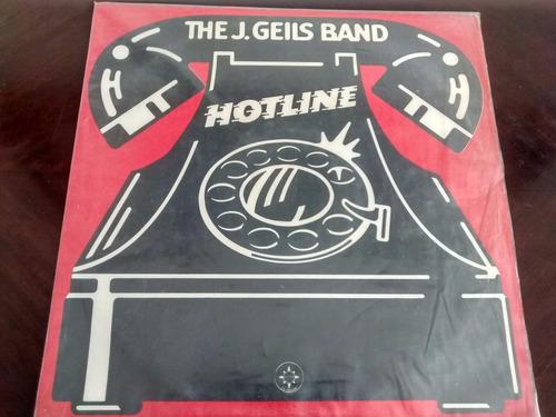 vinilo  lp de the j . geils band -- hotline (u1136