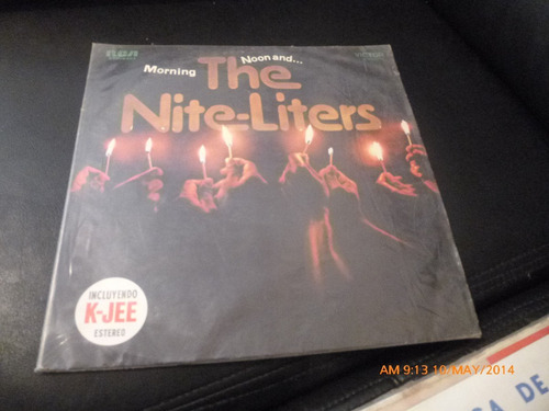 vinilo lp de the nite liters  -morning noon -k -jee(989)