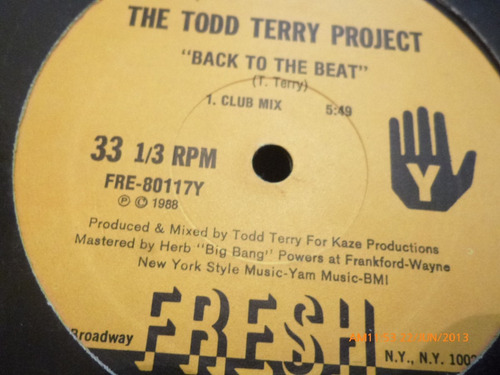 vinilo lp  de  the todd terry project  bango (532)