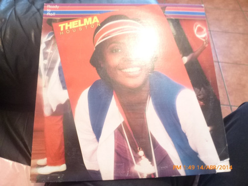 vinilo lp de thelma  houston -- ready to roll (922)