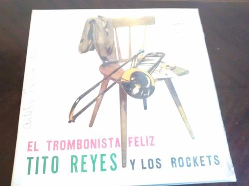 vinilo lp de tito reyes -con los rockets - el tromb(u1026