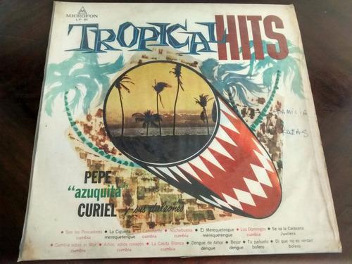 vinilo lp de tropical hits -- los domingos (1179