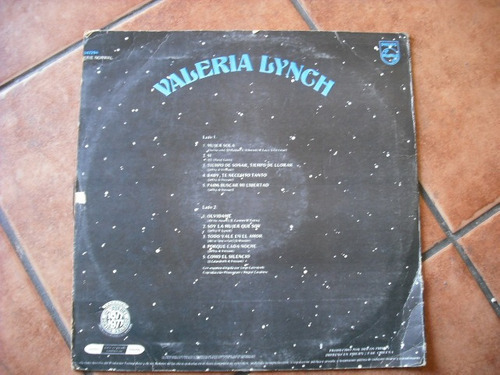 vinilo lp de valeria lynch --mujer sola(238)